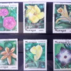 Sellos: NICARAGUA, 1985,** FLORES **. Lote 133307918