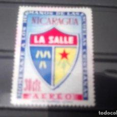 Sellos: NICARAGUA 1958,** HERMANOS CRISTIANOS DE LA SALLE. Lote 133628998