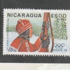Sellos: NICARAGUA 1983 - YVERT NRO. PA1032- USADO. Lote 137432006