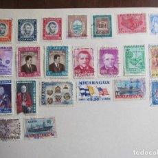 Sellos: LOTE SELLOS NICARAGUA. Lote 138858782
