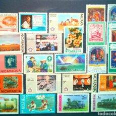 Sellos: NICARAGUA LOTE DE SELLOS NUEVOS DIFERENTES. Lote 146508541