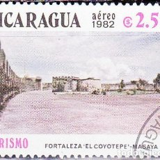 Sellos: 1982 - NICARAGUA - TURISMO - FORTALEZA EL COYOTE - MASAYA - YVERT PA 997. Lote 149378262