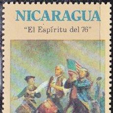 Sellos: 1975 - NICARAGUA - BICENTENARIO INDEPENDENCIA EEUU - EL ESPIRITU DEL 76 - YVERT 998. Lote 149447502