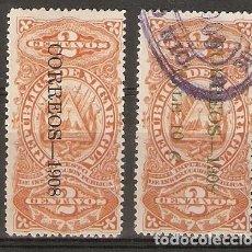 Sellos: NICARAGUA.1908. YT 241,244. Lote 153575214