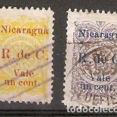 Sellos: NICARAGUA.1922. YT 443,444. Lote 153581538