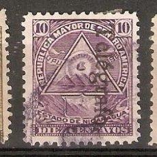 Sellos: NICARAGUA.1898 TELÉGRAFOS. YT 52,53,54. Lote 153588442