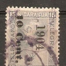 Sellos: NICARAGUA.1904 TELÉGRAFOS. YT 81. Lote 153589890