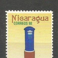 Sellos: NICARAGUA YVERT NUM. 2264 * SERIE COMPLETA CON FIJASELLOS . Lote 159891110