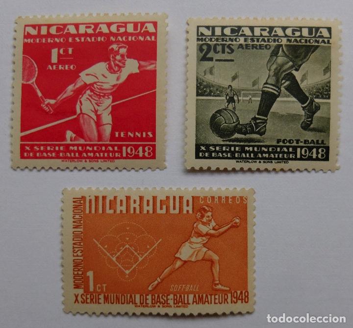 SELLOS DE NICARAGUA (Sellos - Extranjero - América - Nicaragua)