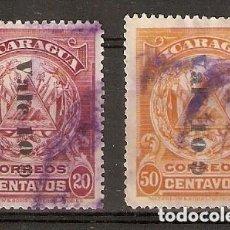 Sellos: NICARAGUA.1908. YT 229,230. Lote 169719300