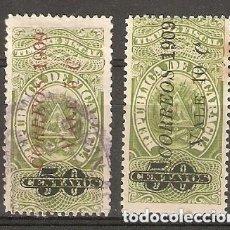 Sellos: NICARAGUA.1909. YT 248,249. Lote 169719344