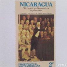 Sellos: NICARAGUA SELLO USADO. Lote 182061893