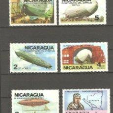 Sellos: NICARAGUA,1977,6 VALORES,NUEVOS,G.ORIGINAL,CON Y SIN FIJASELLOS.. Lote 186462762