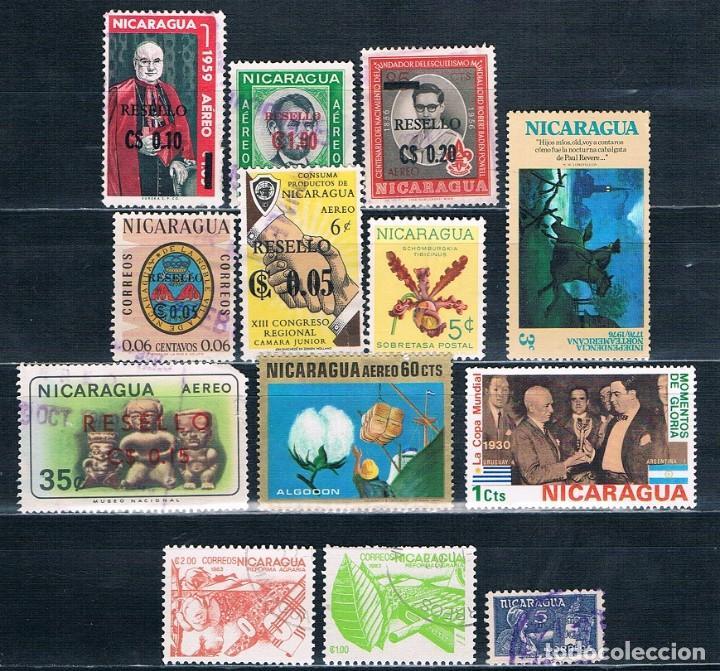 SELLOS SUELTOS NICARAGUA (Sellos - Extranjero - América - Nicaragua)