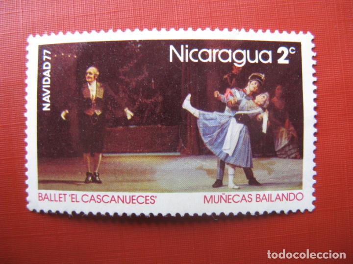 -NICARAGUA 1977, NAVIDAD, YVERT 1076 (Sellos - Extranjero - América - Nicaragua)