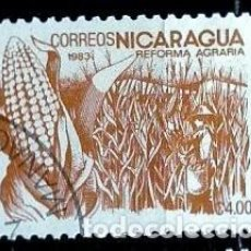 Sellos: NICARAGUA SCOTT: 1300-(1983) (REFORMA AGRARIA: MAIZ) USADO. Lote 191397913