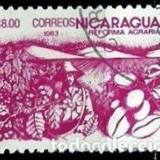 Sellos: NICARAGUA SCOTT: 1304-(1983) (REFORMA AGRARIA: CAFÉ) USADO. Lote 191398366