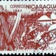 Sellos: NICARAGUA SCOTT: 1611-(1987) (REFORMA AGRARIA: CAÑA DE AZUCAR) USADO. Lote 191404090