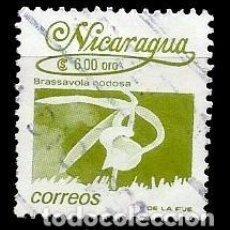 Sellos: NICARAGUA SCOTT: 1833-(1991) (FLORA NICARAGÜENSE: BRASSAVOLA NODOSA) USADO. Lote 191406830