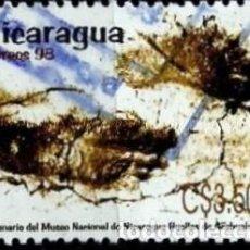 Sellos: NICARAGUA SCOTT: 2226-(1998) (HUELLAS DE ACAHUELINEA) USADO. Lote 191407488