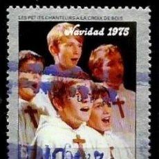 Sellos: NICARAGUA SCOTT: C889-(1975) (CORRE AEREO) (CORO CHICOS DE LA CRUZ DE MADERA; NAVIDAD'75) USADO. Lote 191409542