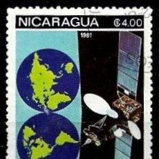 Sellos: NICARAGUA SCOTT: C990-(1981) (CORRE AEREO) (SATÉLITE INTELSAT) USADO. Lote 191409828
