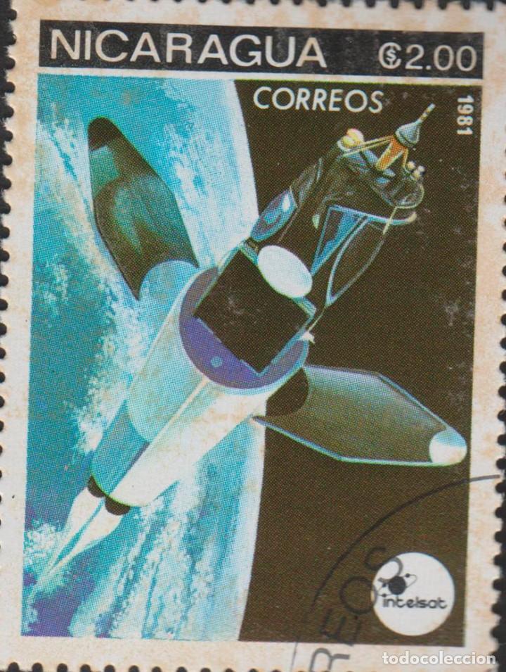 SELLO NICARAGUA USADO FILATELIA CORREOS STAMP POST POSTAGE (Sellos - Extranjero - América - Nicaragua)