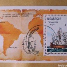 Sellos: SELLO NICARAGUA ESPAMER 81. Lote 193111045