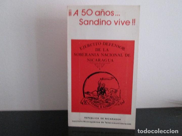 Sellos: TRPITICO A 50 AÑOS SANDINO VIVE VEAN FOTOGRAFIAS - Foto 3 - 203161876