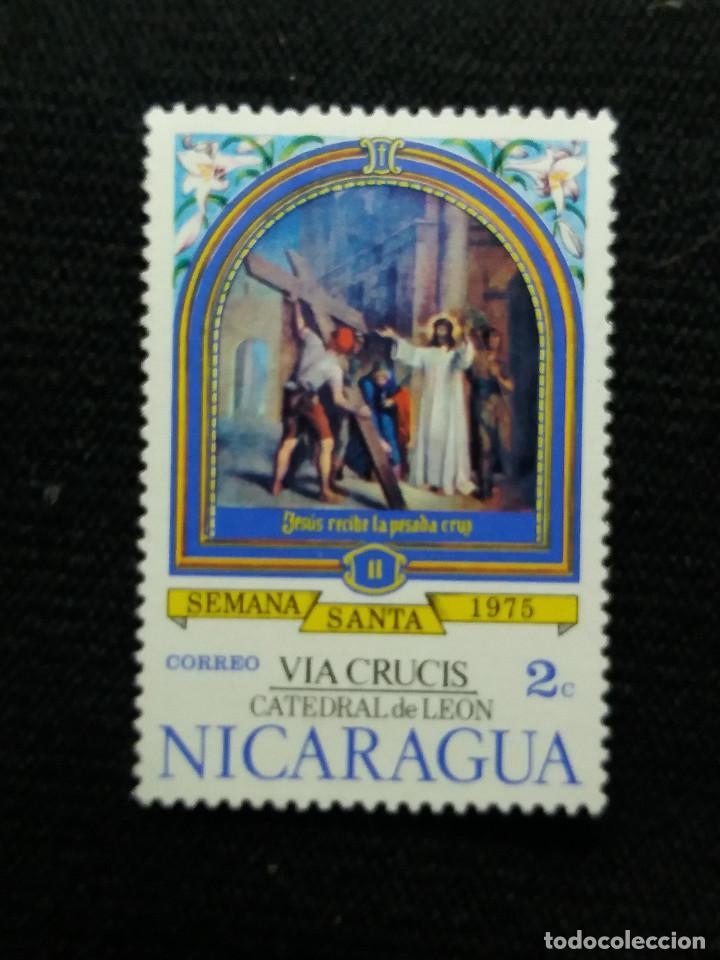 NICARAGUA,2C, SEMANA SANTA, AÑO 1975, NUEVO. (Sellos - Extranjero - América - Nicaragua)