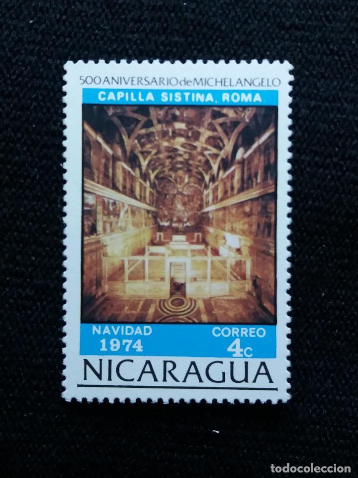 NICARAGUA,4C, NAVIDAD, AÑO 1974, NUEVO. (Sellos - Extranjero - América - Nicaragua)