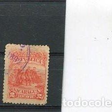 Sellos: SELLOS ANTIGUOS DE NICARAGUA AÑO 1892 4 CENTENARIO DESCUBRIMIENTO DE AMERICA COLON. Lote 204628041