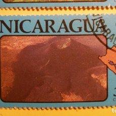 Sellos: NICARAGUA - MONTAÑAS Y VOLCANES - VOLCÁN CERRO NEGRO.. Lote 205728720