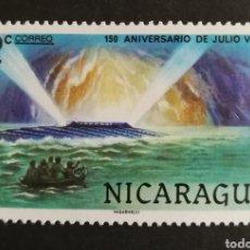 Francobolli: NICARAGUA, 150°ANIVERSARIO DE JULIO VERNE, LA ISLA MISTERIOSA 1978 (FOTOGRAFÍA REAL). Lote 208287943