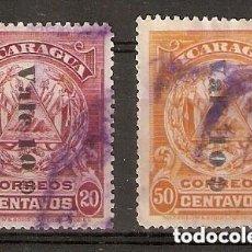 Sellos: NICARAGUA.1908. YT 229,230. Lote 212634271