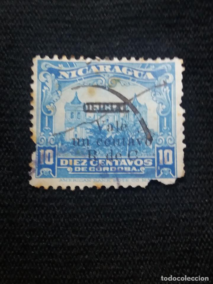 NICARAGUA, 10 CTS, SELLO PROVINCIALES, AÑO 1940, SOBRECARGADO. (Sellos - Extranjero - América - Nicaragua)