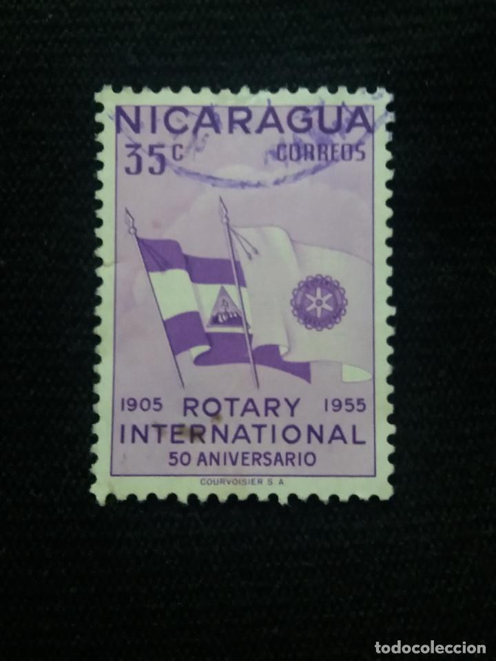 NICARAGUA, 35 CTS, ROTARY INTERNACIONAL, AÑO 1956, (Sellos - Extranjero - América - Nicaragua)