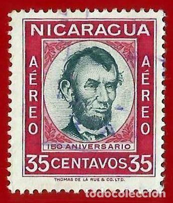 NICARAGUA. 1960. ABRAHAM LINCOLN (Sellos - Extranjero - América - Nicaragua)