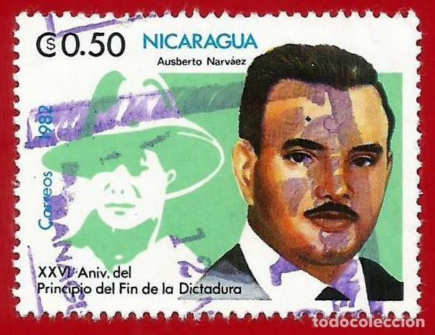NICARAGUA. 1982. AUSBERTO NARVAEZ (Sellos - Extranjero - América - Nicaragua)