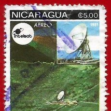 Francobolli: NICARAGUA. 1981. SEGUIMIENTO DE SATELITES. Lote 221662102