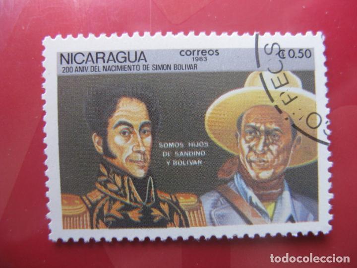+NICARAGUA, 1983, BICENTENARIO DE SIMON BOLIVAR, YVERT 1280 (Sellos - Extranjero - América - Nicaragua)