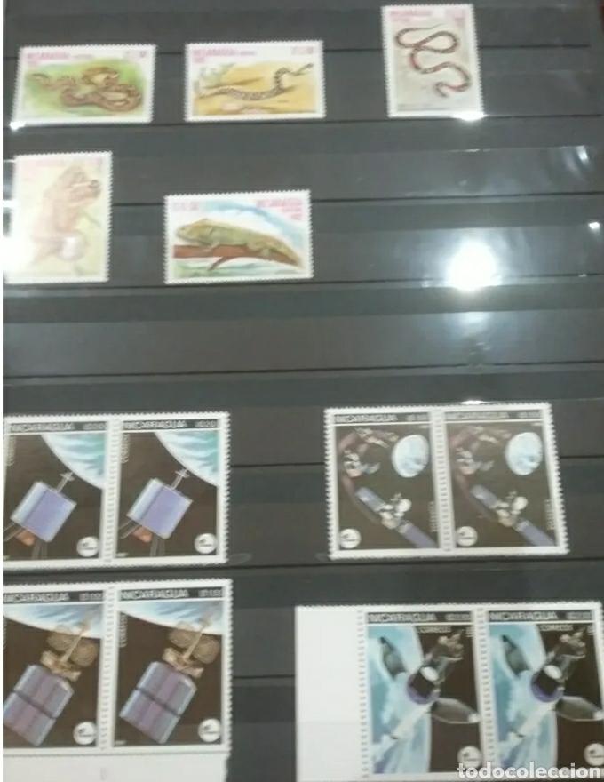 Sellos: Sellos Colección R. Nicaragua mtdos y nuevos/series campletas/década 80/stock/flora/faun/arte/Clasi3 - Foto 3 - 224873538