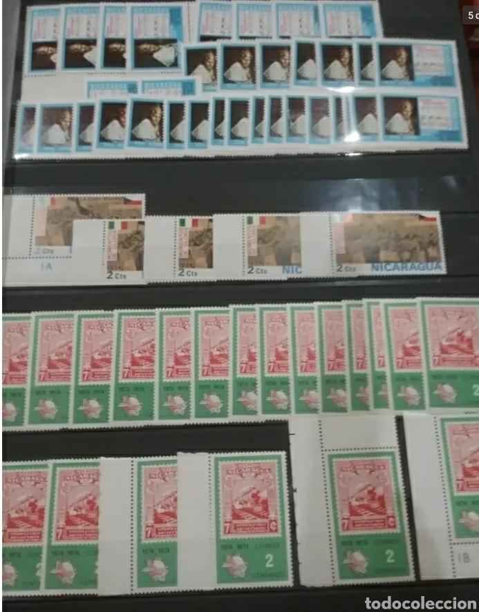 Sellos: Sellos Colección R. Nicaragua mtdos y nuevos/series campletas/década 80/stock/flora/faun/arte/Clasi3 - Foto 5 - 224873538