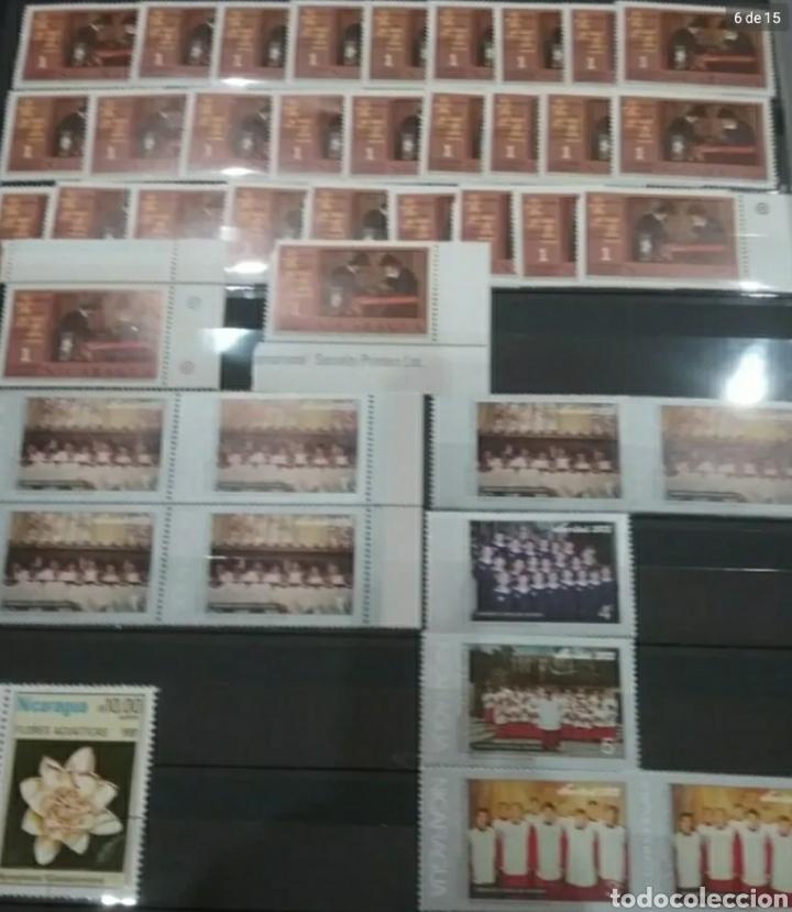 Sellos: Sellos Colección R. Nicaragua mtdos y nuevos/series campletas/década 80/stock/flora/faun/arte/Clasi3 - Foto 6 - 224873538