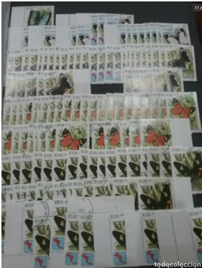 Sellos: Sellos Colección R. Nicaragua mtdos y nuevos/series campletas/década 80/stock/flora/faun/arte/Clasi3 - Foto 11 - 224873538
