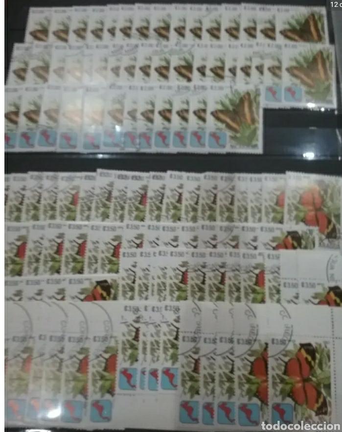 Sellos: Sellos Colección R. Nicaragua mtdos y nuevos/series campletas/década 80/stock/flora/faun/arte/Clasi3 - Foto 12 - 224873538