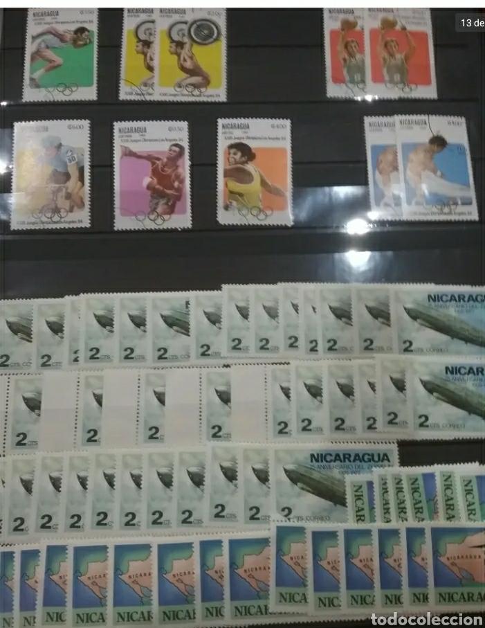 Sellos: Sellos Colección R. Nicaragua mtdos y nuevos/series campletas/década 80/stock/flora/faun/arte/Clasi3 - Foto 13 - 224873538