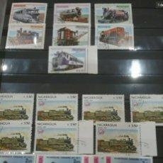 Sellos: SELLOS COLECCIÓN R. NICARAGUA MTDOS Y NUEVOS/SERIES CAMPLETAS/DÉCADA 80/STOCK/FLORA/FAUN/ARTE/CLASI3. Lote 224873538