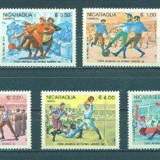 Francobolli: NI-2619 NICARAGUA 1985 MNH FOOTBALL WORLD CUP - MEXICO 1986. Lote 226315591