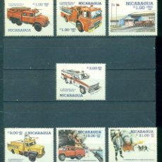 Francobolli: NI-2680 NICARAGUA 1985 MNH THE 6TH ANNIVERSARY OF NATIONAL FIRE BRIGADE. Lote 226315923